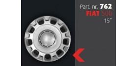 """Borchia copri ruota per FIAT 500  misura 15""""  Copricerchi Copriruota"""