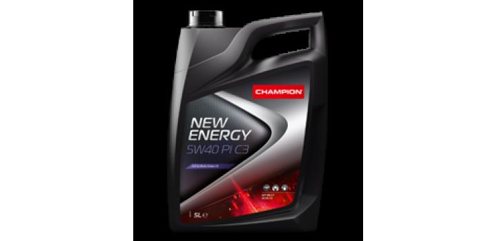 NEW ENERGY 5W40 PI C3 OLIO MOTORE LUBRIFICANTE CHAMPION