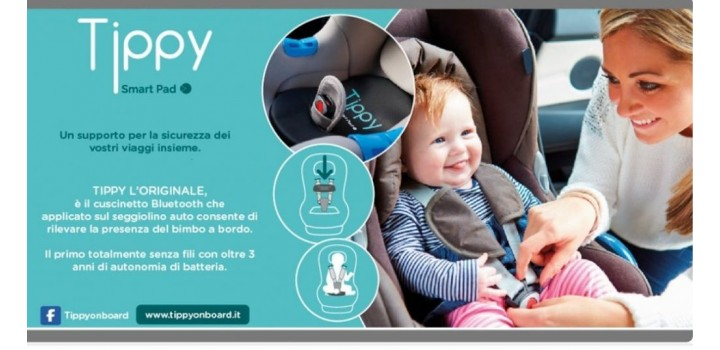 digicom 8E4610 Tippy cuscino antiabbandono bimbi in auto