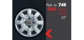"""Borchia copri ruota per FIAT Panda 2010 misura 13""""  Copricerchi Copriruota"""