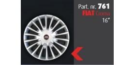 """Borchia copri ruota per FIAT Croma  misura 16""""  Copricerchi Copriruota"""