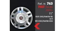 """Borchia copri ruota per FIAT Ducato 2009 misura 15""""  Copricerchi Copriruota"""