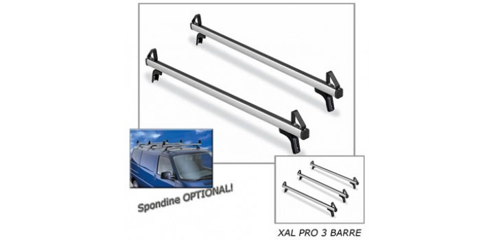 Barre portatutto VEICOLI COMMERCIALI XAL PRO 175cm