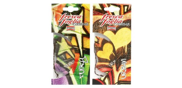 Deodorante Fresca foglia graffiti FUNKY