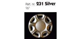 """Borchia copri ruota per UNIVERSALE UNIVERSALE misura 16"""""""