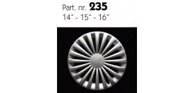 """Borchia copri ruota per UNIVERSALE UNIVERSALE misura 14-15-16"""""""