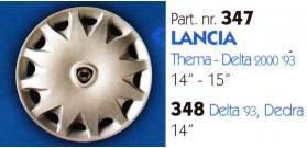 """Borchia copri ruota per LANCIA THEMA/DELTA misura 14-15"""""""