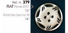 """Borchia copri ruota per FIAT PANDA misura 13-14"""""""