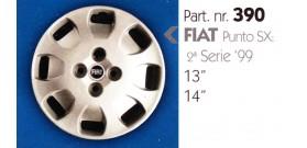 """Borchia copri ruota per FIAT PUNTO misura 13-14"""""""