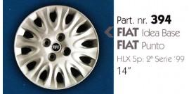 Borchia copri ruota per FIAT PUNTO/IDEA misura 14&#34