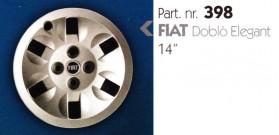 Borchia copri ruota per FIAT DOBLO&#39 misura 14&#34