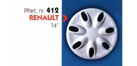 Borchia copri ruota per RENAULT  misura 14&#34