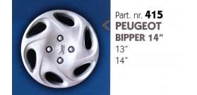 """Borchia copri ruota per PEUGEOT BIPPER misura 14"""""""
