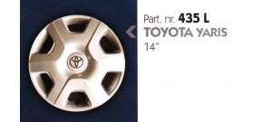Borchia copri ruota per TOYOTA YARIS misura 14&#34