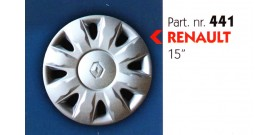 Borchia copri ruota per RENAULT  misura 15&#34