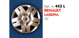 "Borchia copri ruota per RENAULT LAGUNA misura 16"""