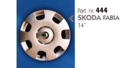 Borchia copri ruota per SKODA FABIA misura 14&#34