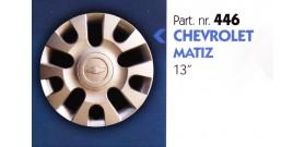 """Borchia copri ruota per CHEVROLET MATIZ misura 13"""" Copricerchi Copriruota"""