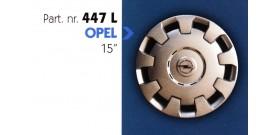 """Borchia copri ruota per OPEL  misura 15"""""""