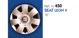 Borchia copri ruota per SEAT LEON misura 16&#34