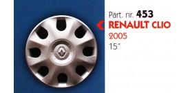 """Borchia copri ruota per RENAULT CLIO misura 15"""""""