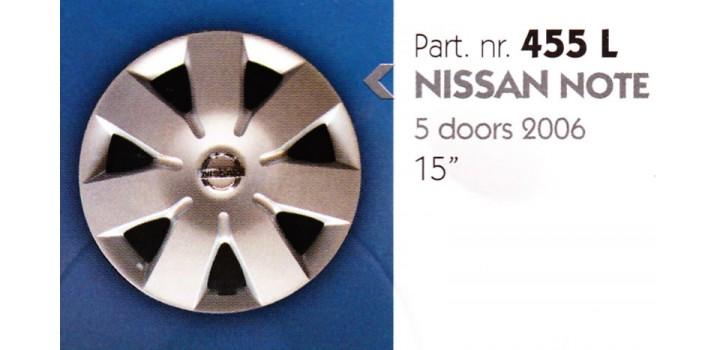 """Borchia copri ruota per NISSAN NOTE misura 15"""""""