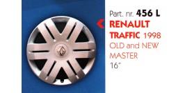 Borchia copri ruota per RENAULT TRAFFIC-MASTER misura 16&#34