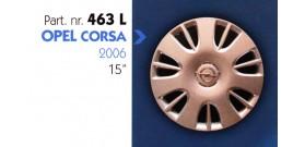 """Borchia copri ruota per OPEL CORSA misura 15"""""""