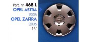 """Borchia copri ruota per OPEL ASTRA-ZAFIRA misura 16"""""""