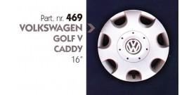 """Borchia copri ruota per VOLKSWAGEN GOLF V-CADDY misura 16"""""""