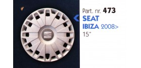 """Borchia copri ruota per SEAT IBIZA misura 15"""""""