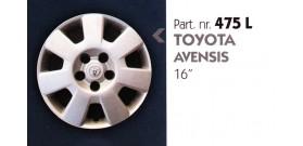 """Borchia copri ruota per TOYOTA AVENSIS misura 16"""""""