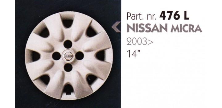 """Borchia copri ruota per NISSAN MICRA misura 14"""""""