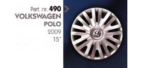 Borchia copri ruota per VOLKSWAGEN POLO misura 15&#34