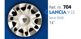 """Borchia copri ruota per LANCIA Y misura 14"""""""