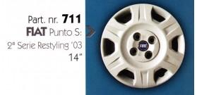 Borchia copri ruota per FIAT PUNTO misura 14&#34