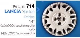 """Borchia copri ruota per LANCIA YPSILON misura 14"""""""