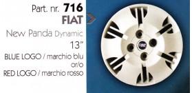 """Borchia copri ruota per FIAT PANDA misura 13"""""""
