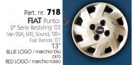 """Borchia copri ruota per FIAT PUNTO misura 13"""""""
