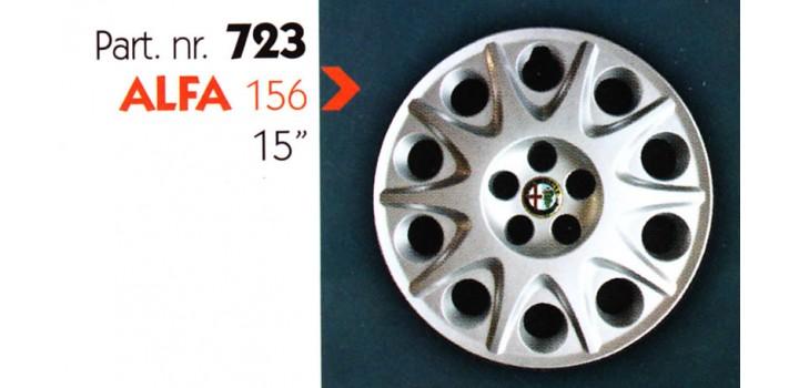 """Borchia copri ruota per ALFA 156 misura 15"""" Copricerchi Copriruota"""