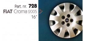 """Borchia copri ruota per FIAT CROMA 2005 misura 16"""""""