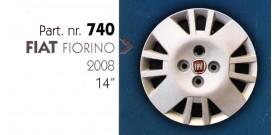 Borchia copri ruota per FIAT FIORINO 2008 misura 14&#34