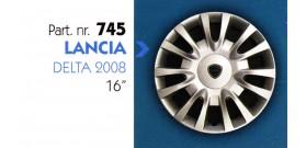 """Borchia copri ruota per LANCIA DELTA 2008 misura 16"""""""