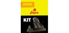 Kit staffe di fissaggio per barre FAPA modello ZERO SYSTEM