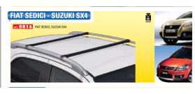Barre portatutto specifiche FIAT SEDICI, SUZUKY SX4