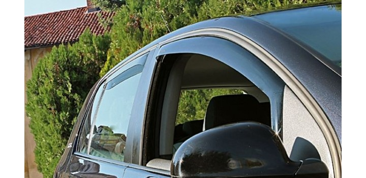 Kit deflettori Antiturbo/antiaria per finestrini